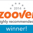 Ook weer in 2014 Zoover Highly Recommended